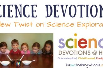 Want to do science experiments with your kids and illustrate a gospel concept at the same time? Check out Science Devotions from KidMin Science!