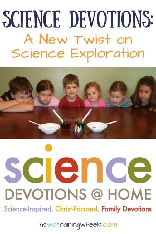 Want to do science experiments with your kids and illustrate a gospel concept at the same time? Check out Science Devotionals from KidMin Science!