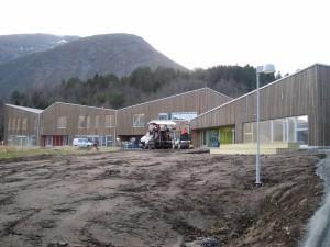Sørestranda skule - tømrararbeid