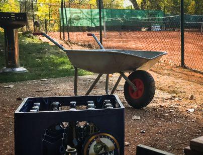 Erster Herbst-Subbotnik beim HTC Tennis erfolgreich abgeschlossen