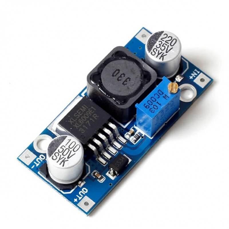 XL6009 Boost Converter hte bd
