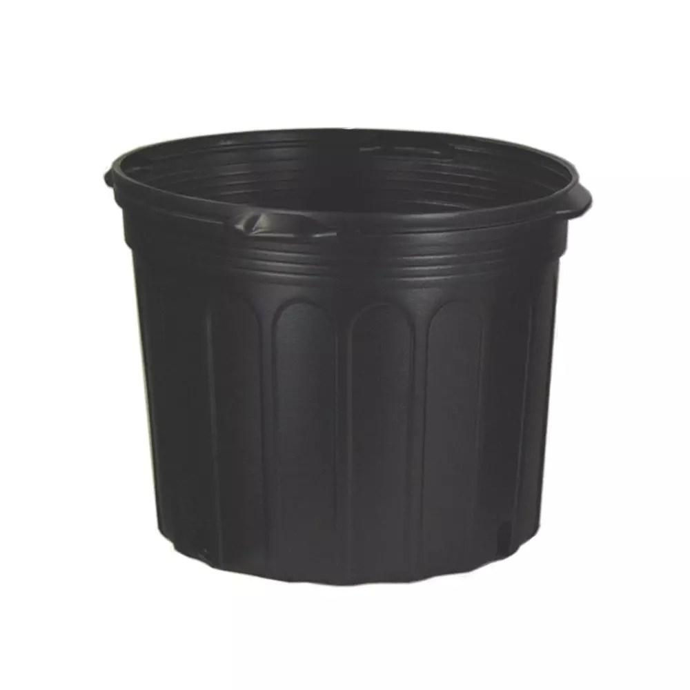 7 Gallon Nursery Pots Long Lasting Plastic 7 Gallon Pots For Plants Htg Supply