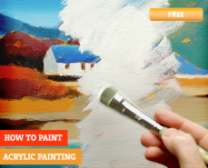 Acrylic Painting - HOW TO LEARN ONLINE