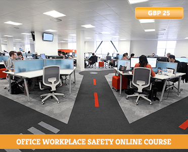 Office Workplace Safety Online Course - Office Safety - office safety hazards - office workplace safety tips - self defence office safety training - how to learn online