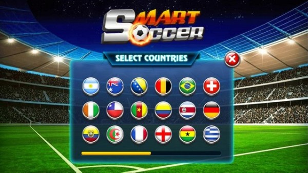 smart soccer html5 game - nation flags