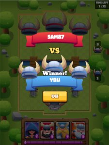 Clash of Vikings HTML5 game winner