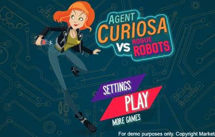 Agent Curiosa vs Rogue Robots