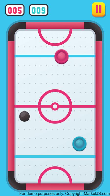 Air Hockey HTML5 Gameplay