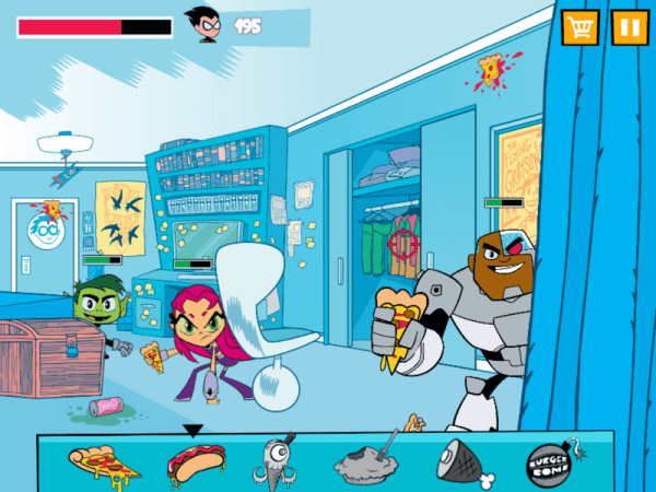 Bespoke HTML5 Games Games for TV Shows Teen Titans Game