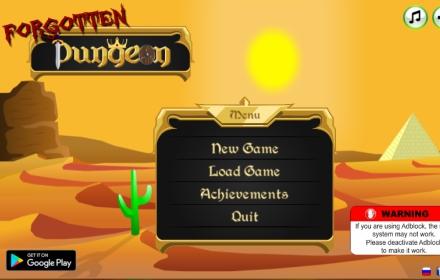 Forgotten Dungeon- Raise Undead