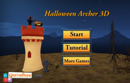 Halloween Archer 3D Game