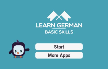 Learn German Basic Skills Game