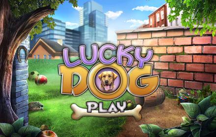 Lucky Dog Hidden Object Game title