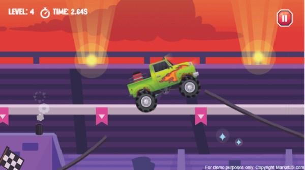 Monster Truck Driving