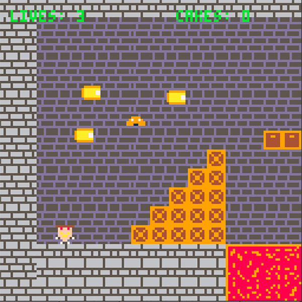 Pizzaboy HTML5 8bit gameplay