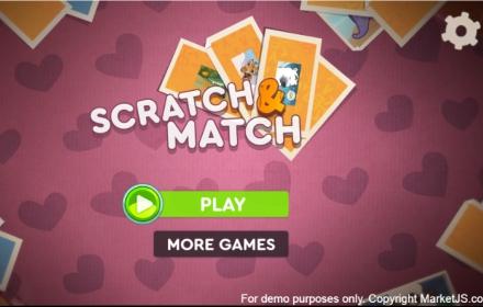Scratch And Match-Animals