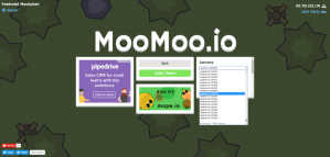 MooMoo game - select server