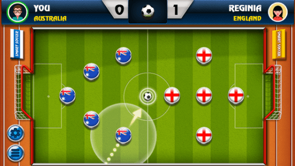 smart soccer html5 game - aiming