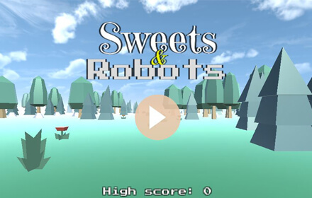 Sweets and Robots Featured