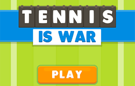 Tennis is War HTML5 featured