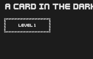 Card in the dark