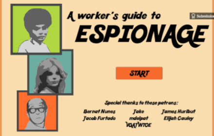 A worker's guide to espionage