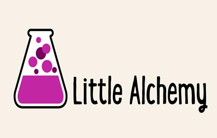 Little Alchemy start up page