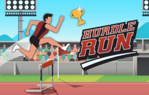 Hurdling Sports Game banner