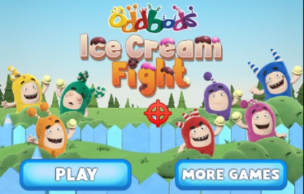 Oddbods Ice Cream Fight