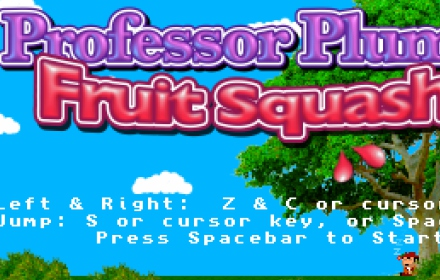 Professor Plum's Fruit Squash