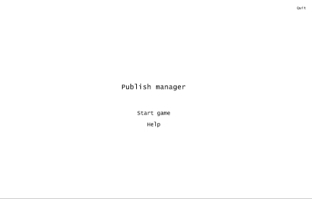 Publish Manager