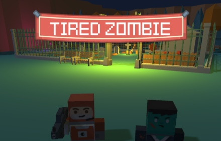 tired zombie