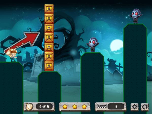 vampires and garlic - screenshot