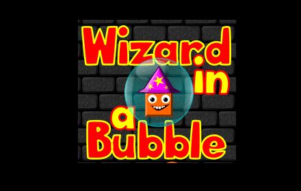 Wizard in a Bubble Logo