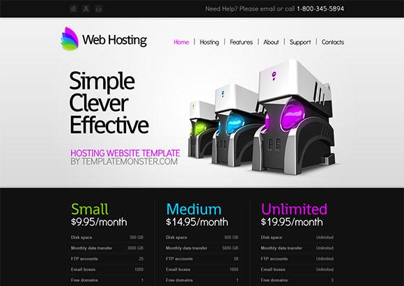 WebHosting Html5 Theme