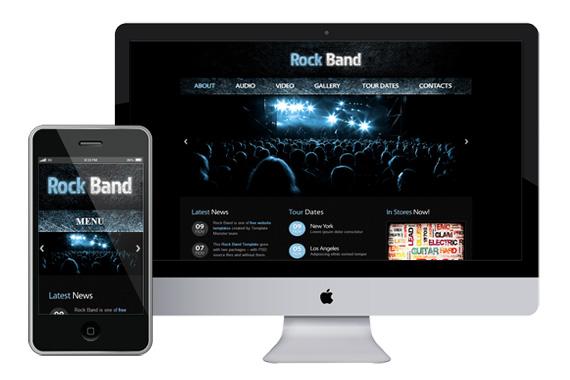 zrockbank free responsive html5 css3 themes templates