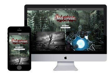 zZombie – Responsive Html5 Template