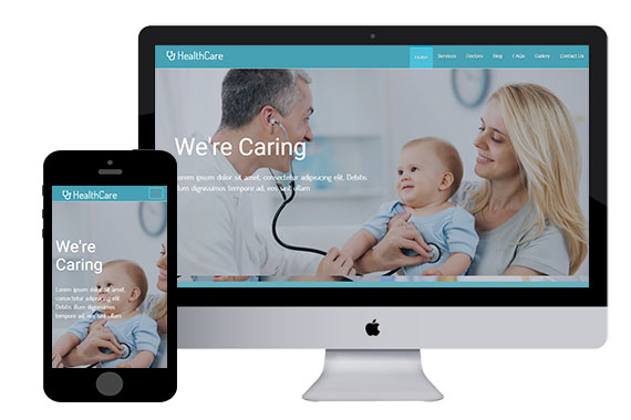 HealthCare free html5 templates and responsive themes