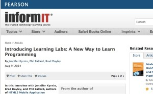 Introduction to Learning Labs: A New Way to Learn Programming