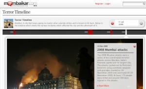 Mumbai terror timeline