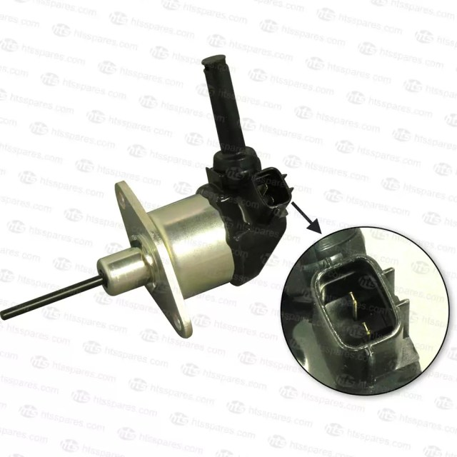KUBOTA FUEL SHUT OFF SOLENOID  2 PIN AUTOMOTIVE TYPE CONNECTOR  LONG PIN TYPE | Fuel ShutOff