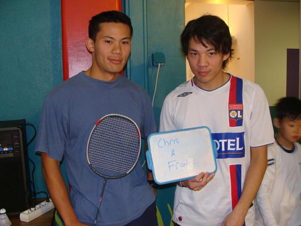 Photos souvenirs de la 3e édition du Tournoi de badminton, dimanche 16 novembre 2008 au gymnase Glacière à Paris XIIIe