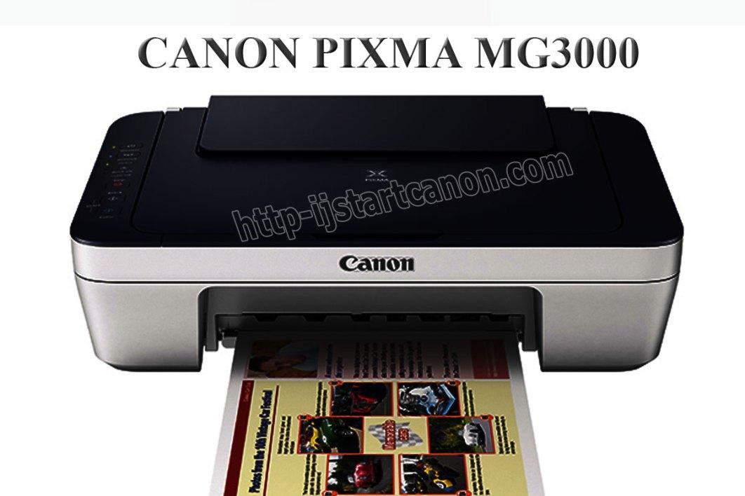 http //canon.com/ijsetup MG3000