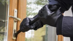 puerta apalancada robo