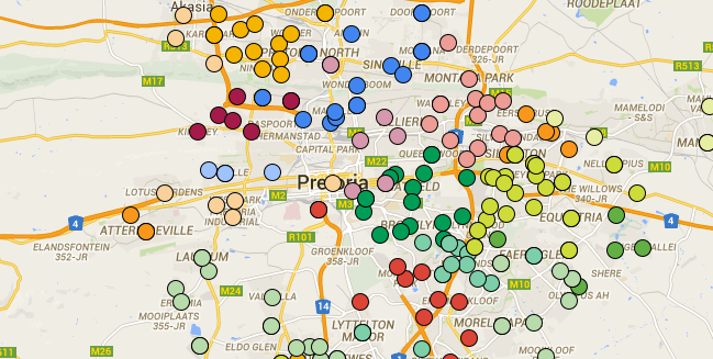 Cape Town Load Shedding: Loadshedding: Maps Of The Power Out Schedules For Tshwane