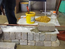 An invention that aims to make brick laying easier