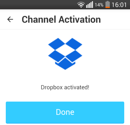 IFTTT - Channel