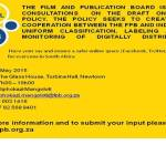 South African internet censorship: have your say this Thursday