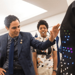 LED dress made by young girls to hit New York Fashion Week