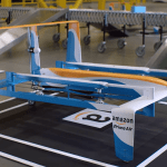 Jeremy Clarkson shows off Amazon's drone delivery service